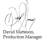 Web-David's Signature
