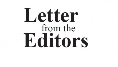Web-Letter from Editor