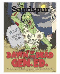 Sandspur Zombie Cover